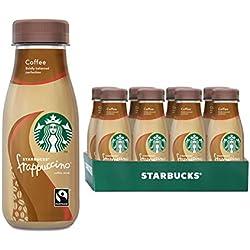 Starbucks Frappuccino Coffee, Erfrischendes Milchmischgetränk für unterwegs, 8er Pack (8 x 250 ml)