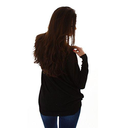 Voyelles Damen Pullover Ein Pulli Mit Klassischen