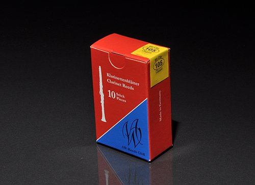 AW-REEDS 105 Classic German 2 Blätter B-Klar. 10St