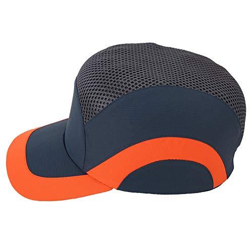 Sonew Anti-Kollisions Atmungsaktive Schutzhelme für Harte Arbeit Leichter, komfortabler Baseball Schutzhelm(Blau)