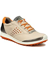 ECCO Biom Hybrid 2 Oyester Naranja Zapatos de Golf Mujer