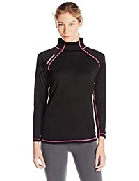 Scent-Lok Women's Wild Heart Baseslayer Top, Black, X-Small by Scent-Lok