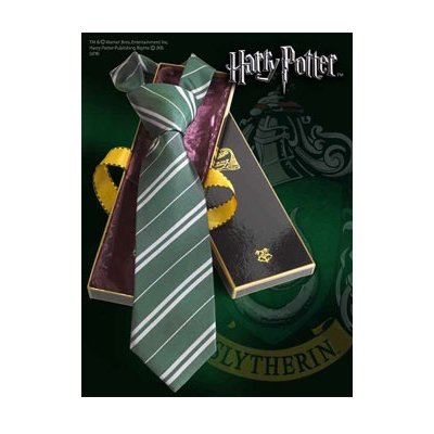 Preisvergleich Produktbild Noble Collection – Harry Potter Krawatte SERPEVERDE Deluxe