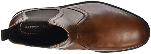 Rockport Dressports Modern Chelsea, Bottes Classiques homme Marron - Brown (New Brown Leather)