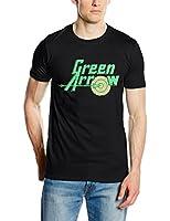 DC Comics Men's Green Arrow Logo Short Sleeve T-Shirt