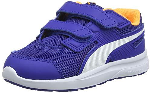 scaper Mesh V Inf Sneaker, Blau (Surf The Web-Puma White-Orange Pop), 25 EU ()