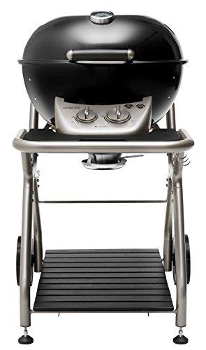 Barbecue a gas sferico - new ascona 570 g (nero)