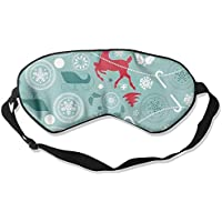 Sleep Eye Mask Deer Gifts Lightweight Soft Blindfold Adjustable Head Strap Eyeshade Travel Eyepatch E8 preisvergleich bei billige-tabletten.eu