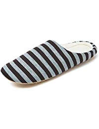 MAXTOP Pantofole Uomo Donna Cotone Ciabatte Casa Feltro Morbido Antiscivolo  Confortevole per Casa Inverno df1b1aeaa9f
