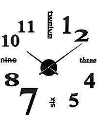 Vosarea El Reloj de Pared Grande sin Marco 3D mira Las Horas decoración de la casa