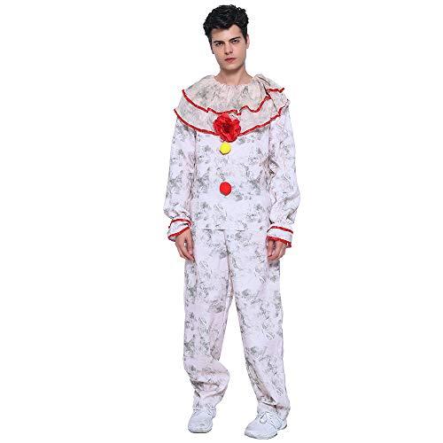 Kostüm Twisty Halloween Clown Dem - EraSpooky Erwachsene Ausgeflippt Clown Halloween Kostüm