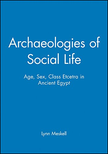 Archaeologies of Social Life: Age, Sex, Class Etcetra in Ancient Egypt: Perspective on Age, Sex, Class in Ancient Egypt (Social Archaeology) por Meskell