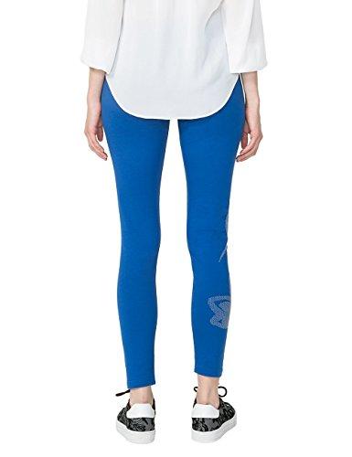 Desigual Damen Legging Laurence Blau (ROYAL 5010)