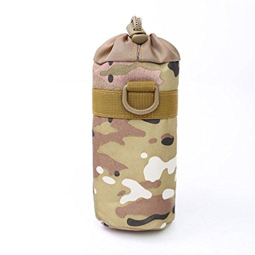 F@Ventilatore tattico esercito Campeggio bollitore, 3L litro sport outdoor nylon impermeabile viaggio bollitore, acqua borsa zaino Kit , B A