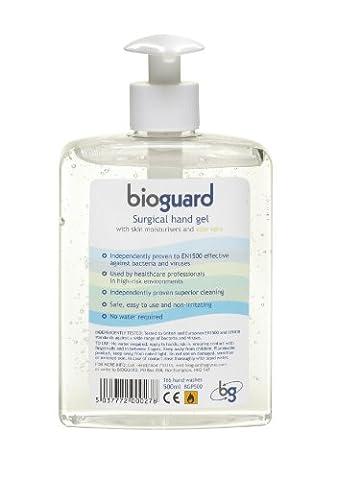 Bioguard Surgical Hand Gel Pump Dispenser 500ml