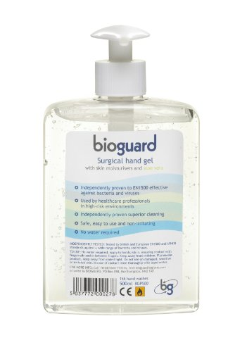 Bioguard Surgical Hand Gel Pump Dispenser 500ml