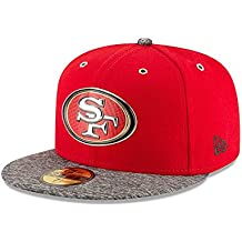 New Era NFL SAN FRANCISCO 49ers Authentic Onstage 59FIFTY 2016 Draft Cap, Größe:7