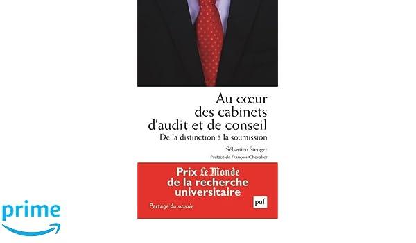Au Coeur Des Cabinets De Conseil Et Daudit Amazonde Sebastien Stenger Fremdsprachige Bucher