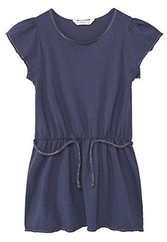 mango-kids-robe-coton-robe-ceinture-taille4-5-ans-couleurbleu-marine-fonce