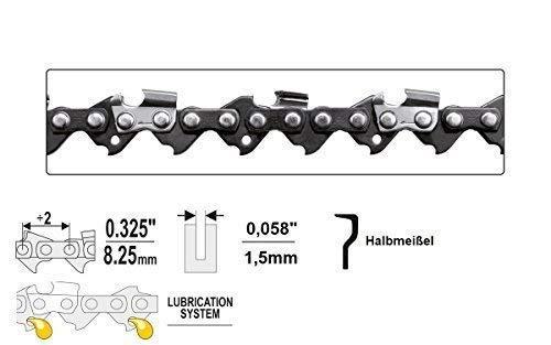 """Yato, Sägekette 0.325\"""" x 1,5 x 40 - 80 TG , Halbmeißel , Hobby, Sägeketten (56 TG)"""