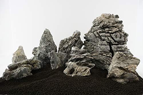 LIFEGARD AQUATICS 25G Smoky Mountain Stone Stein-Set, rauchig -