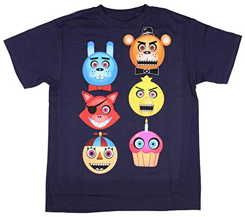 Five Nights at Freddy's Boys Freddy Fazbear's Glow in the Dark T-Shirt Age 9 to 11 Years