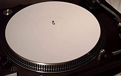 White Perspex Mat for Turntable–Dm231