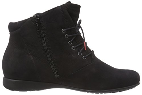 Think! Thi Boot, Bottes Classics courtes, doublure chaude femme Noir - Schwarz (SCHWARZ 00)