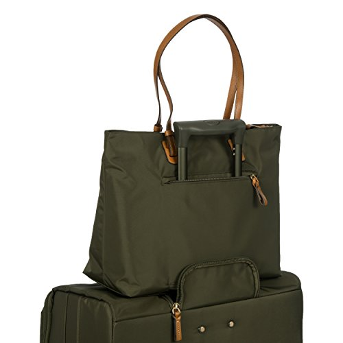 Brics X-Travel Shopper Borsa tote 39 cm scomparto Laptop Olive