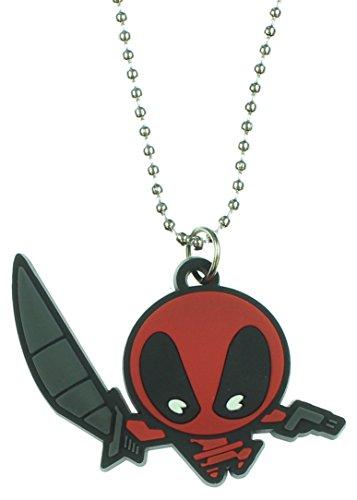 Marvel Deadpool Chibi Character design collana
