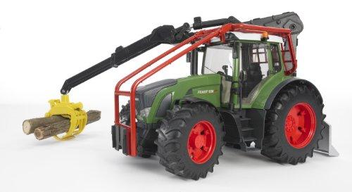 Imagen principal de Bruder 3042 - Tractor Fendt Vario 926 con grúa