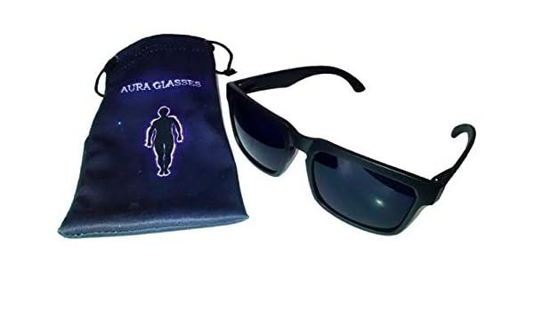 Ces lunettes Aura sont pensées pour vous permettre de voir le contour de  l aura des gens. La teinture utilisée sur les verres bloque ... c3aae7774948