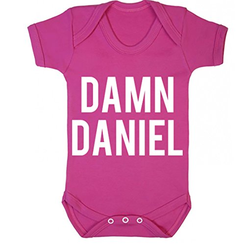illustratedidentity Damn Daniel Baby Vest Boys Girls
