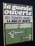 La gueule ouverte, mensuel écologique. N° 10. Illustrations de Gébé, Reiser, Cabu … Août 1973. (Dessin d'humour, Ecologie, Périodiques, Periodicals)...