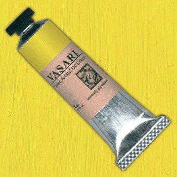 VASARI : CLASSIC OIL PAINT : 40ML : CADMIUM YELLOW LEMON