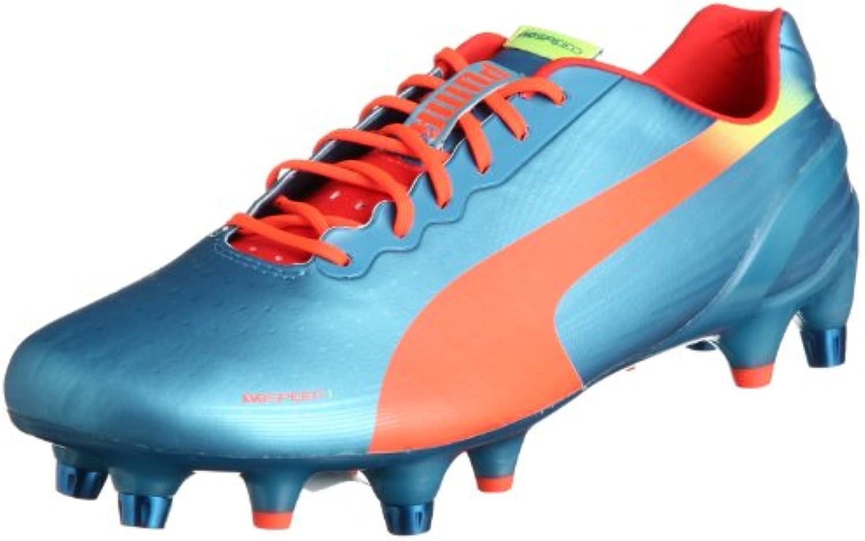 Puma EVOSPEED 1 2 MI MI MI Scarpe da Calcio Football Blu Arancione per Uomo   Elegante E Robusto Pacchetto  e9bdb9