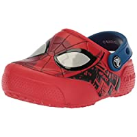 Crocs Boys Fun Lab Spider-Man Lights Kids Clogs