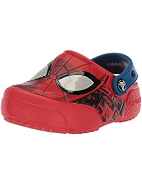 Crocs Fun Lab Spider-Man Lights Clog Kids, Zuecos para Niños