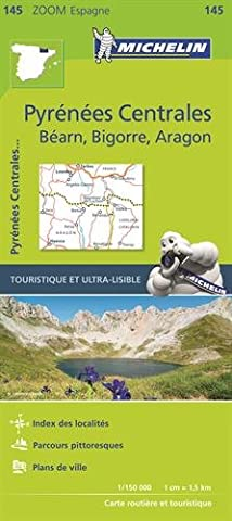 Pyrenees Michelin - Carte Zoom 145 Pyrenees