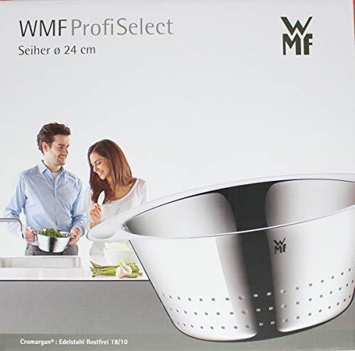WMF Gourmet Seiher, Ø 24 cm, Cromargan Edelstahl rostfrei, spülmaschinengeeignet - 2