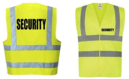 Generic Sicherheits-Warnweste, Lätzchen, K9, T-Shirt, SIA Doorman Festival Bouncer K9 Unit K9 Handler Hund Handler Bekleidung Top Hoodie Reflektierend - S -