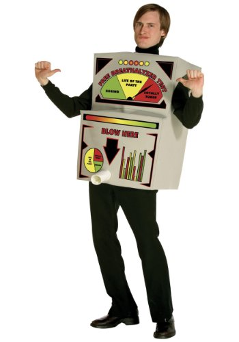Kost-me f-r alle Gelegenheiten GC6984 Alkoholtester Kost-m (Alkoholtester Kostüm)