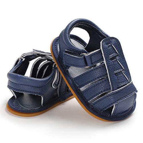YpingLonk Baby Boy Velcro Bottom Sandalen , Babyschuhe ,Kleinkindschuhe , Sommer-Kleinkind-Säuglingsbaby-Nette weiche Sohle Sandelholz-Schuhe