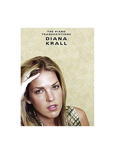 Diana Krall: The Piano Transcriptions. Partitions pour Piano, Chant et Guitare(Boîtes d'Accord)
