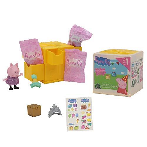 Peppa Pig Coffret Surprises-modèles aleatorios, ppc41, Amarillo