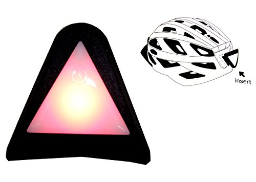 Uvex Plug-in LED Helm Blinklicht rot für City S, Stivo/cc/c, Adige/cc, Stiva Helm