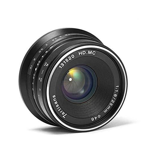25-1.8 E-Mount Prime Objektiv Manueller Fokus Len Robustes Kamerazubehör Schwarz ()