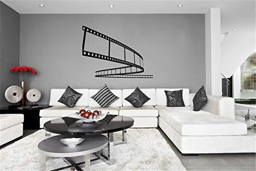 wandaufkleber 3d spiegel wandaufkleber sterne leuchtend movie wall decal Film Strip Vinyl Wall Decal Sticker for home theater
