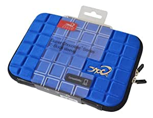 Croco CAS2311 Super Chocolate Carry Case Cover/Sleeve for 7 inch iPad Mini/Tablets - Blue