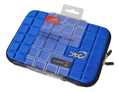 Croco Super Chocolate Schutztasche für Aldi Tablet Leben - Blau